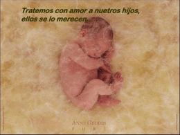 Tratemos con amor a nuestros niños, lo merecen…