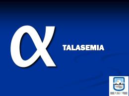 Alfa thalassaemia