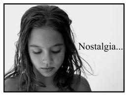 Nostalgia - Presentaciones.org