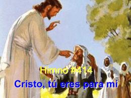 Cristo, tú eres para mí - Le site de Richard Lemay