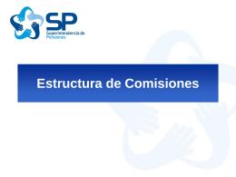 Estructura de Comisiones Comisiones por Cotizaciones Voluntarias