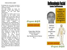 Diapositiva 1 - facial reflexology San Nicolas de los Garza