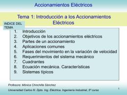 Tema 1 Accionamientos Eléctricos - OCW