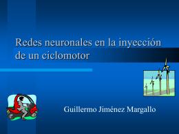 Redes neuronales en la inyección de un ciclomotor