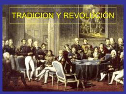 tradicionalismo y revolucion
