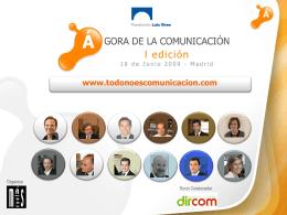 I edición del Ágora de Comunicación
