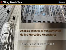 Análisis técnico y fundamental en los mercados