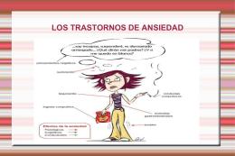LOS TRASTORNOS DE ANSIEDAD