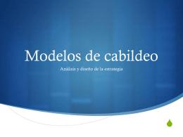 Modelos de cabildeo