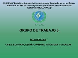 13 presentacion grupo de trabajo 3 en octa paraguay junio