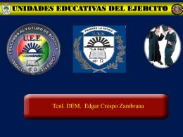 unidades educativas del ejercito