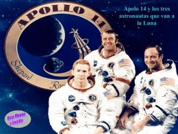05-apolo 14 y los tres astronautas que van a la luna