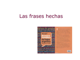 Las frases hechas 2011