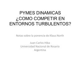 pymes dinamicas ¿como competir en entornos turbulentos?