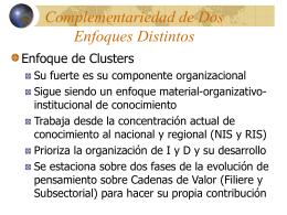 Módulo III Complementariedad de dos enfoques