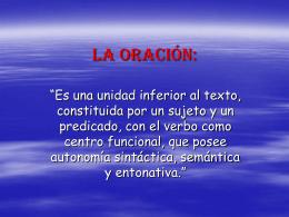 LA ORACIÓN CLASE No. 2 - Cursos-a-impartir-samr
