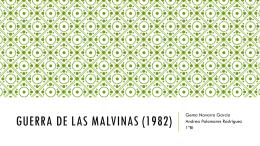 Guerra de las Malvinas (1982)