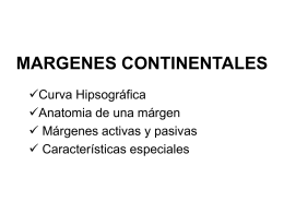 margen continental