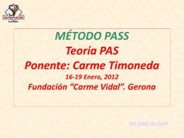 Método Pass - Carme Timoneda