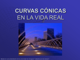 Presentación introducción curvas cónicas