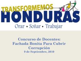 entrevistas - Transformemos Honduras