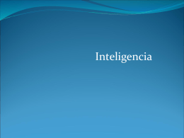 4.2 Inteligencia - Psicología Grupo Académico Monarca