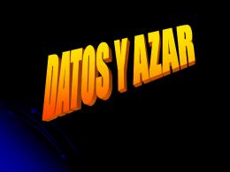 DATOS Y AZAR - Colegio SIS Quillota