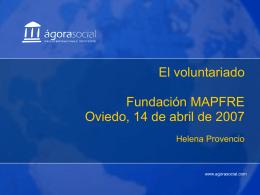¿Qué es un voluntario?
