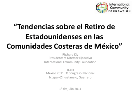 """US Retirement Trends in Coastal Communities of Mexico"""