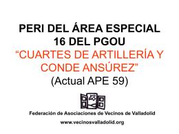 resumen ( ppt - 744.5 kb) - Federación de Asociaciones Vecinales