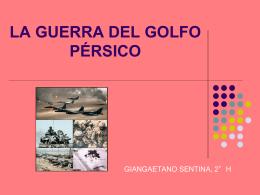 Guerra del Golfo en ppt.