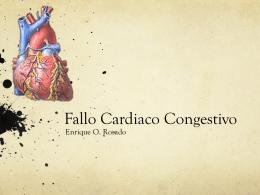 Qué es Fallo Cardiaco Congestivo?