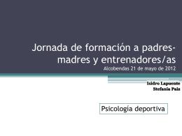 estructura y organización de las instituciones deportivas