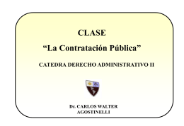 CONTRATACIONES - UAIDerechoAdministrativo