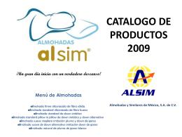 Diapositiva 1 - Almohadas WCM