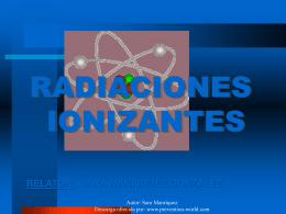 Son radiaciones ionizantes
