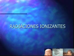 N° 33 Radiaciones Ionizantes