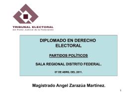 Partidos Políticos - Tribunal Estatal Electoral