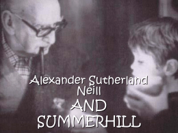 neill summerhill - teoriaseinstituciones