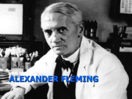 ALEXANDER FLEMING. NURIA GF