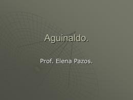 Aguinaldo. - Uruguay Educa
