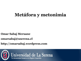 La metonimia - WordPress.com