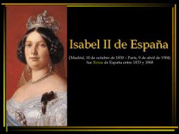 Isabel II de España