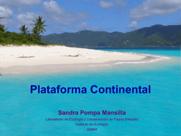 Plataforma Continental - Instituto de Ecología