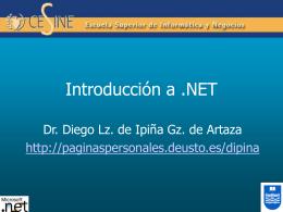 1. Introducción a .NET
