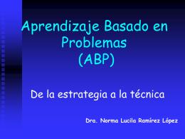 Aprendizaje Basado en Problemas (ABP) - FMVZ-UNAM