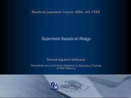 Supervisión Basada en Riesgo