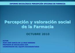 Ubicación Social de las Oficinas de Farmacia