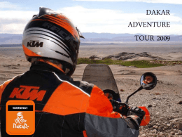 DAKAR ADVENTURE TOUR