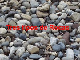 tipos de Rocas - Teacher Sparrow
